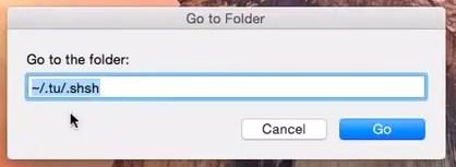 Where SHSH blobs are saved on mac - path location