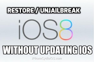 Restore / Remove Jailbreak Without Updating iOS (UnJailbreak iOS 8)