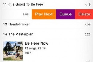 Queue Songs in the Music app (iOS 8 with UpNext Cydia App)