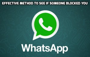 How to Know If Someone Blocked You on WhatsApp (Working 2015)