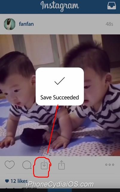 save instagram photos and videos instatools ios 8 cydia