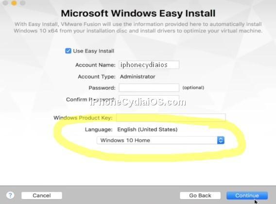 Microsoft Windows Easy Install
