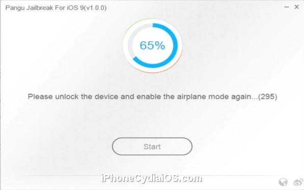 Pangu 9 - Unlock Device and Enable Airplane Mode