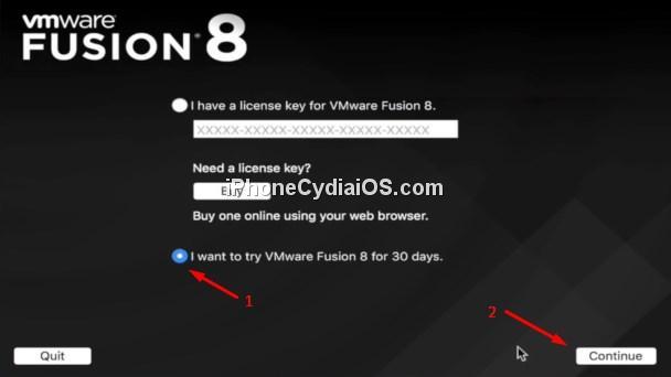 VMware Fusion 8 Trial
