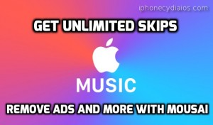Apple Music Unlimited Radio Skips with Mousai (iOS 9 +)