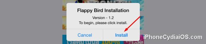 iOSEmus - Flappy Bird Installation
