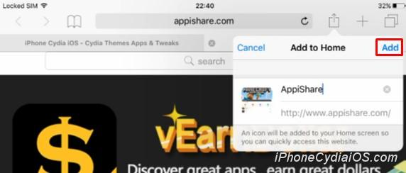 Install AppiShare on iOS 9_3
