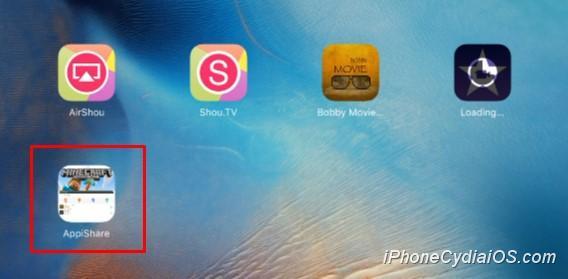 Install AppiShare on iOS 9_4