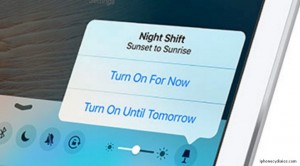 How to Enable Night Shift mode in iOS 9.3
