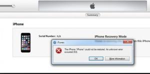 Apple iPhone / iPad Error 53 Fix