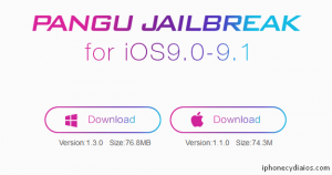 Download Pangu Jailbreak for iOS 9.1 (Windows)