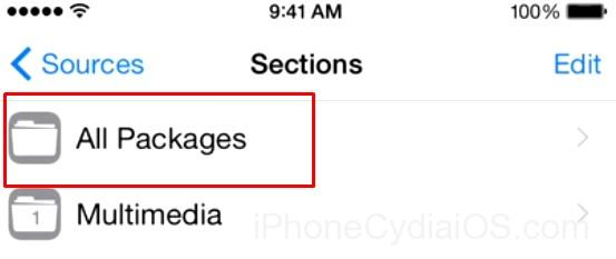 Install Kodi on iOS 9 with Jailbreak Cydia_step 4