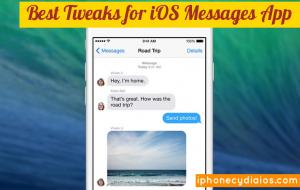 Best Tweaks for iOS Messages App