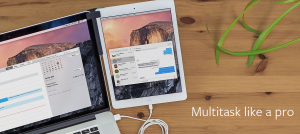Attach your iPhone or iPad to your MacBook with Mountie