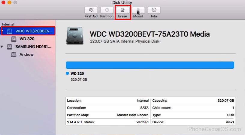 Clone Mac OS X to new HDD or SSD Upgrade - 1