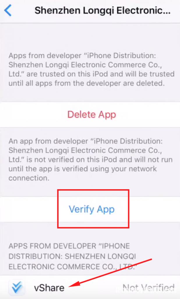 install-vhsare-ios-10-no-computer-verify-app