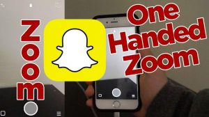 Snapchat One-handed Zoom (while Recording)