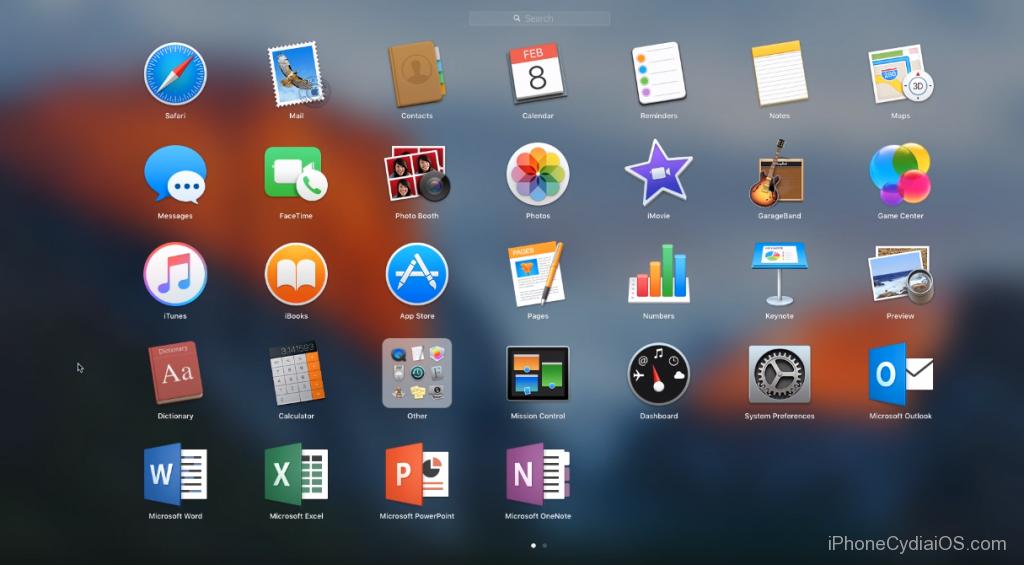 change Launchpad Icon size in Mac OS X El Capitan_0
