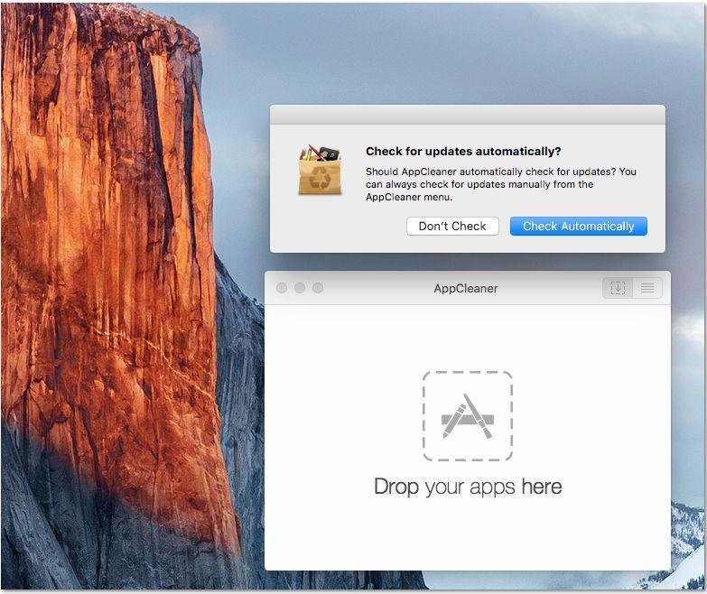 Download AppCleaner - updates