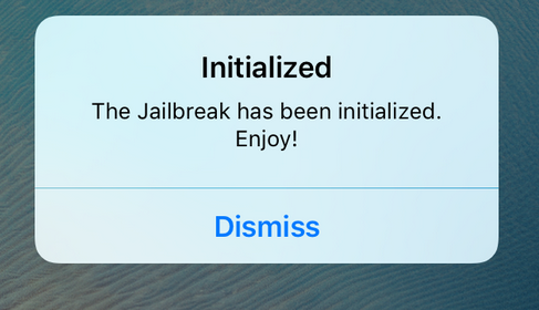Initialized - fix ios 9.2 - iOS 9.3.3 jailbreak after reboot