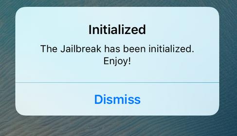Initialized - fix ios 9.2 - iOS 9.3.3 jailbreak after reboot