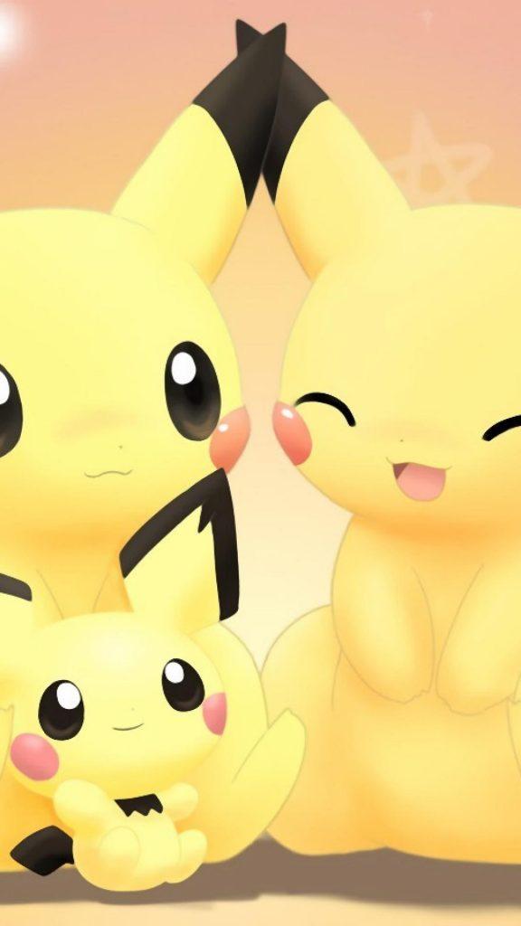 Pokemon Go Wallpapers 3d cute pikachu iPhone 6 plus compatible