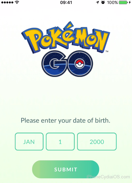 install pokemon go ios 9 - start