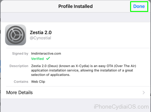 Download and Install Zestia on iOS - 4