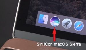 How to enable / disable Siri on Mac (macOS Sierra or later)