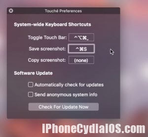 Download Touché – MacBook Pro TouchBar Emulator